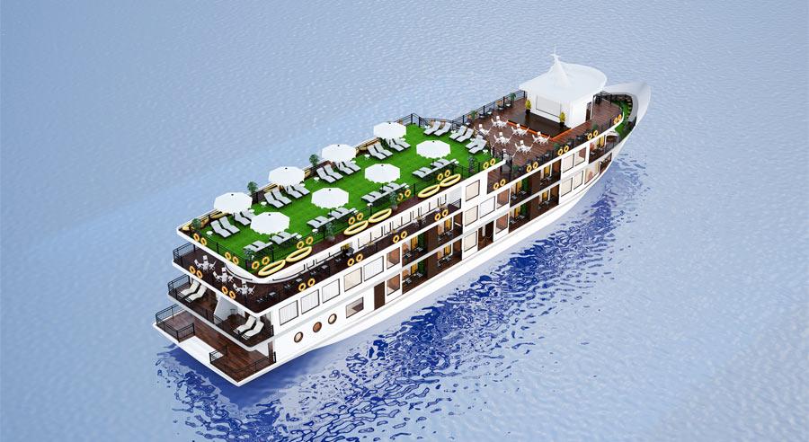 Ancora Cruise, Ha long bay Cruises,Ancora Cruise,Ha long bay 01