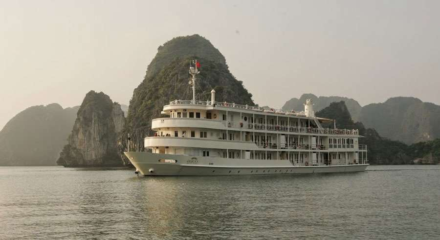 Au Co Cruise, Ha long bay Cruises,Au Co Cruise,Ha long bay 16
