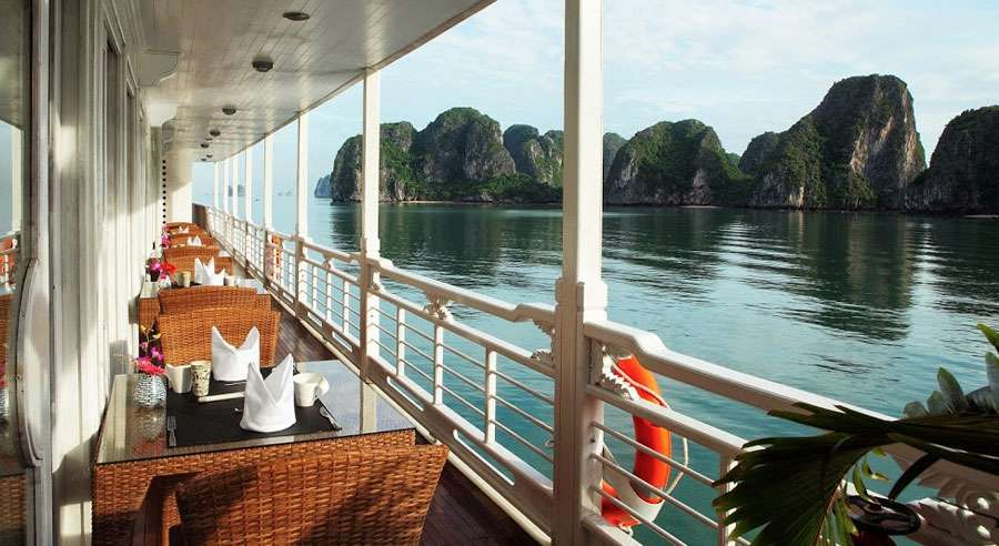 Au Co Cruise, Ha long bay Cruises,Au Co Cruise,Ha long bay 17