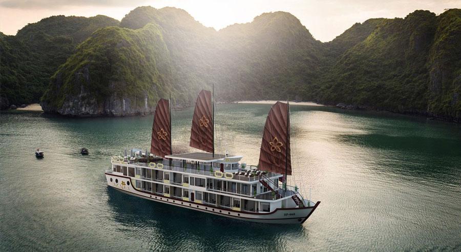 Azalea Cruise, Lan ha bay Cruises, Azalea Cruise, Lan ha bay 01