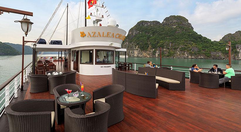 Azalea Cruise, Lan ha bay Cruises, Azalea Cruise, Lan ha bay 06