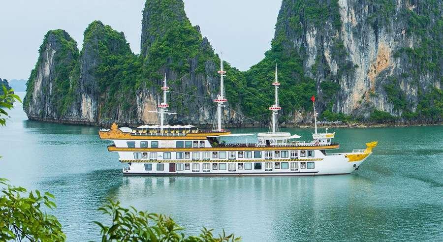 Dragon Legend Cruise, Bai tu long Cruises, Dragon Legend Cruise, Bai tu long 01