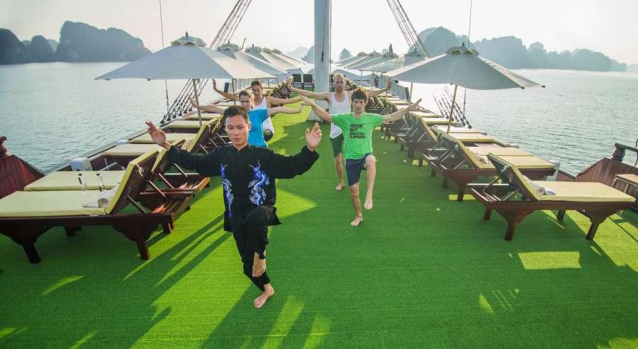Dragon Legend Cruise, Bai tu long Cruises, Dragon Legend Cruise, Bai tu long 14