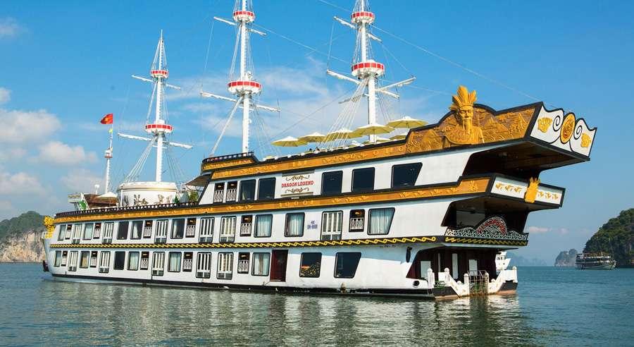 Dragon Legend Cruise, Bai tu long Cruises, Dragon Legend Cruise, Bai tu long 17