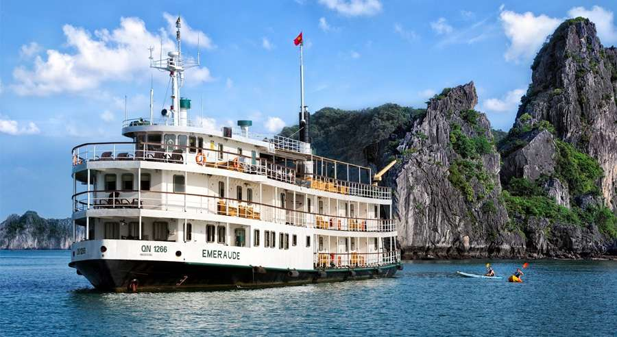 Emeraude Cruise, Ha long bay Cruises,Emeraude Cruise,Ha long bay 01