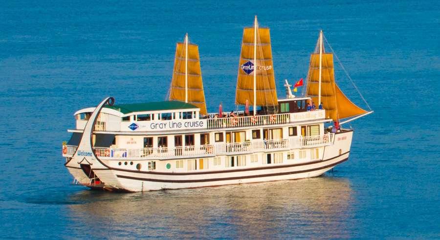 Gray line Cruise , Ha long bay Cruises, Gray line Cruise, Ha long bay 01