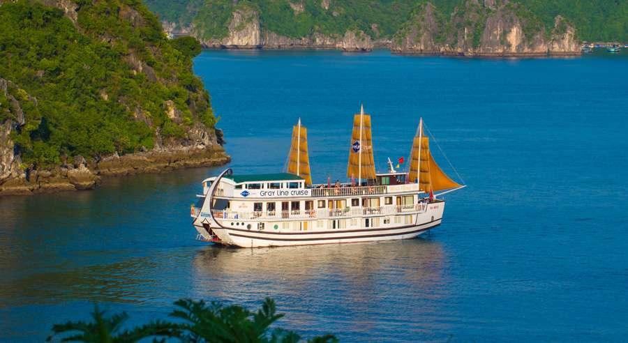 Gray line Cruise , Ha long bay Cruises, Gray line Cruise, Ha long bay 02