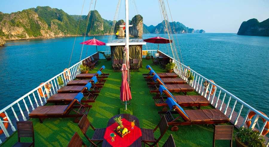 Gray line Cruise , Ha long bay Cruises, Gray line Cruise, Ha long bay 08