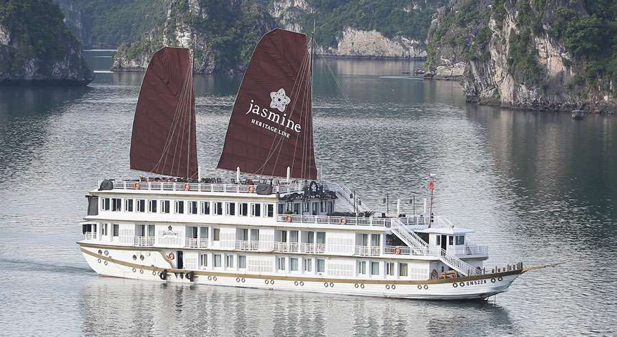 Jasmine Cruise , Ha long bay Cruises,Jasmine Cruise, Ha long bay 01