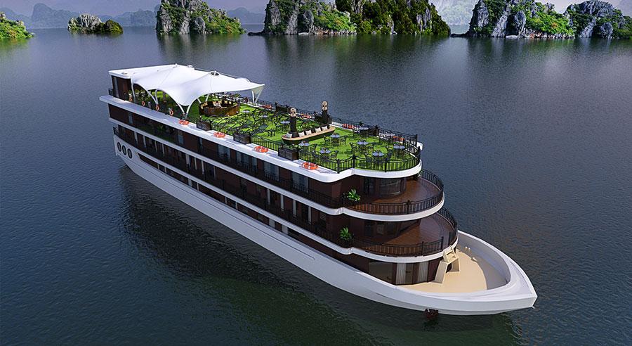 Margaret Cruise, Ha long bay Cruises, Margaret Cruise, Ha long Bay 01