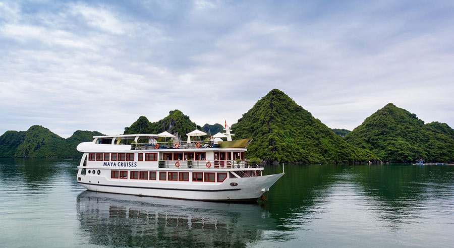 Maya Cruise , Lan ha bay Cruises, Maya Cruise, Lan ha bay 03