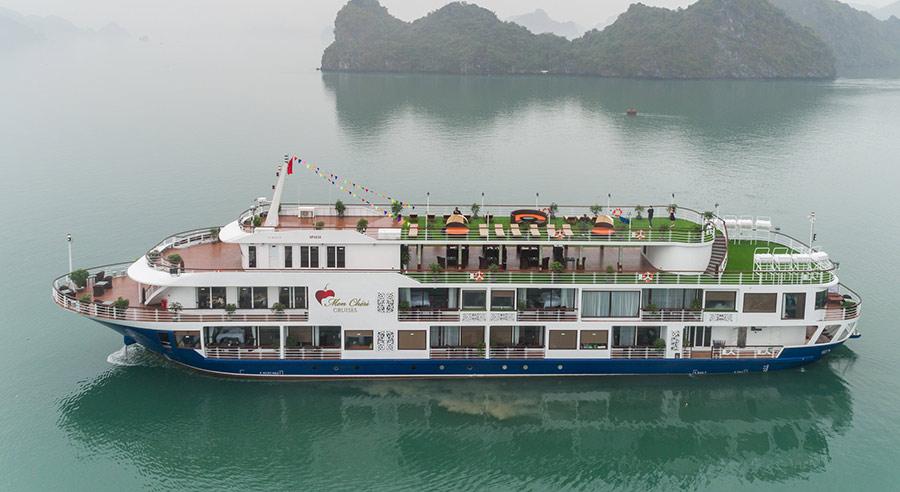 Mon Cheri Cruise, Lan ha bay Cruises, Mon Cheri Cruise, Lan Ha Bay 01