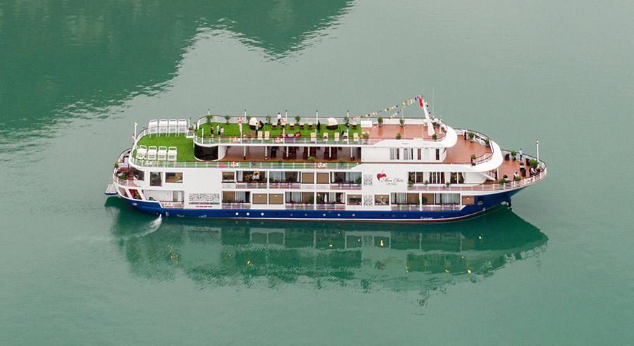 Mon Cheri Cruise, Lan ha bay Cruises, Mon Cheri Cruise, Lan Ha Bay 02