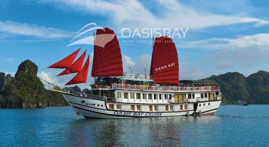 Oasis Bay Cruise , Ha long bay Cruises, Oasis Bay Cruise, Ha long bay 01