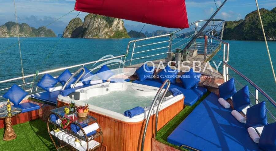 Oasis Bay Cruise , Ha long bay Cruises, Oasis Bay Cruise, Ha long bay 03