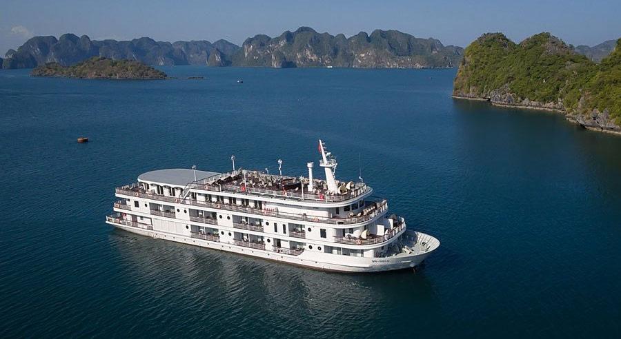 Paradise Elegance Cruise, Ha long bay Cruises, Paradise Elegance Cruise, Ha Long Bay 01