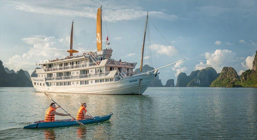 Paradise Luxury Cruise, Ha long bay Cruises, Paradise Luxury Cruise, Ha long Bay 02