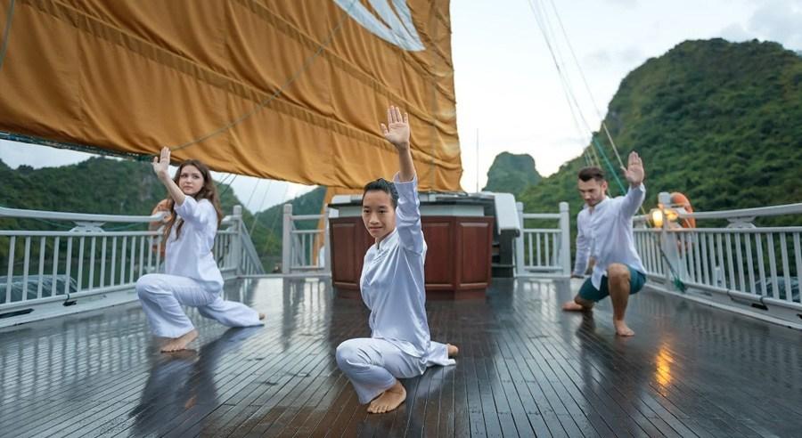 Paradise Luxury Cruise, Ha long bay Cruises, Paradise Luxury Cruise, Ha long Bay 11