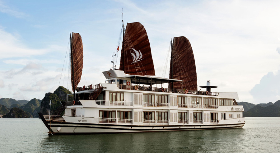 Pelican Cruise, Ha long bay Cruises, Pelican Cruise, Ha long Bay 02