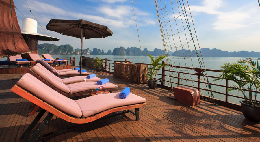 Pelican Cruise, Ha long bay Cruises, Pelican Cruise, Ha long Bay 10