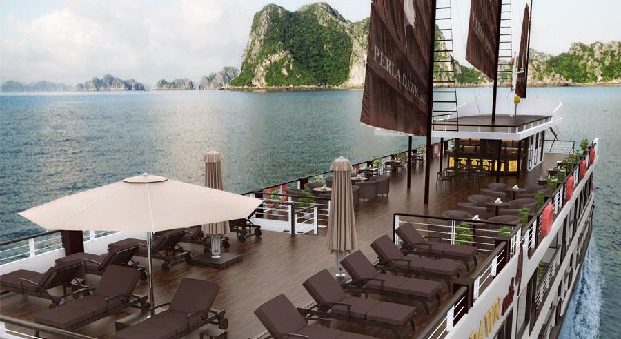 Perla Dawn Cruise, Lan ha bay Cruises, Perla Dawn Cruise, Lan ha Bay 03