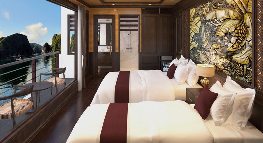 Perla Dawn Cruise, Lan ha bay Cruises, Perla Dawn Cruise, Lan ha Bay 14