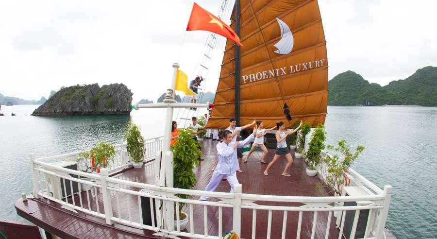 Phoenix Cruise, Halong Bay Cruises, Phoenix Cruise halong Bay 16