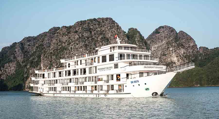 President Cruise, Ha long bay Cruises, President Cruise, Ha long Bay 01