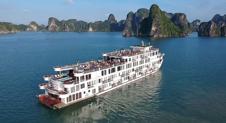 President Cruise, Ha long bay Cruises, President Cruise, Ha long Bay 02
