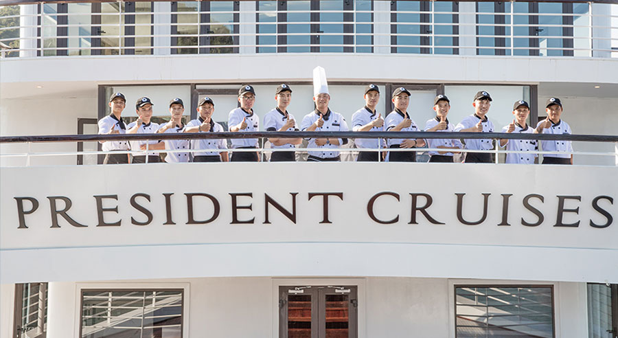 President Cruise, Ha long bay Cruises, President Cruise, Ha long Bay 03