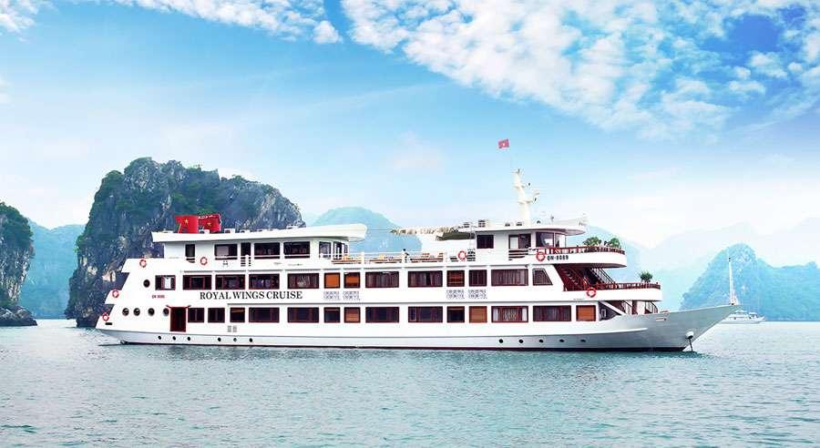 Royal Wings Cruise, Bai tu long Cruises,Royal Wings Cruise,Bai tu long 01