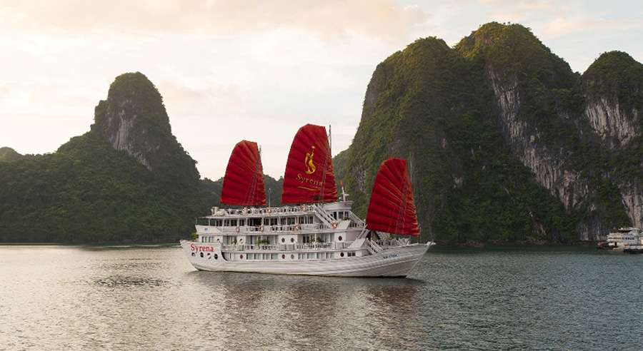 Syrena Cruise, Ha long bay Cruises,Syrena Cruise,Ha long bay 01