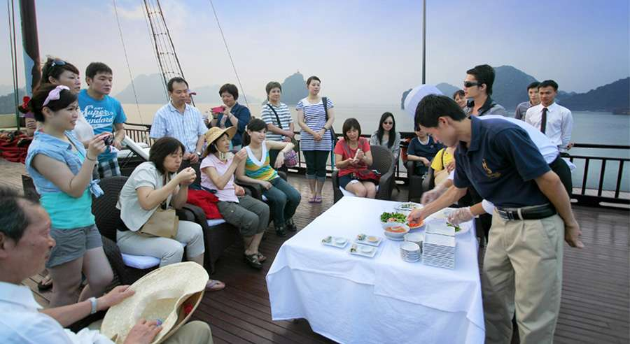 Syrena Cruise, Ha long bay Cruises,Syrena Cruise,Ha long bay 17