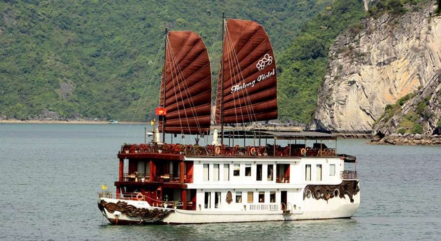 Violet Cruise, Ha long bay Cruises,Violet Cruise,Ha long bay 01