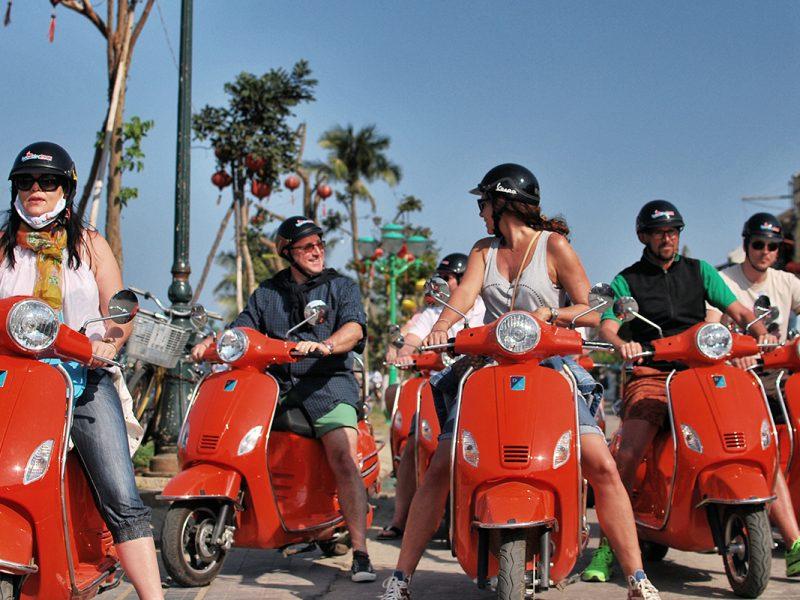 Vespa Tours In Hue,Cozy Tous,Cozy Vietnam Travel,Vietnam Tours