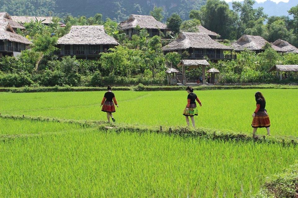 Hoa Binh Reservoir & Hill Tribe Villages