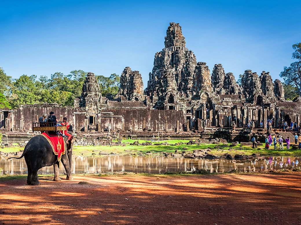 Siem Reap in Combodia