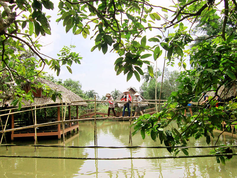 Mekong Delta Ecolodge Discovery Tour
