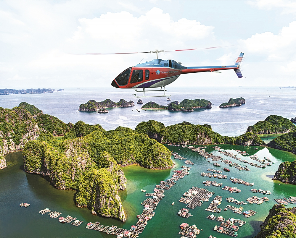 Halong Bay Helicopter Tour