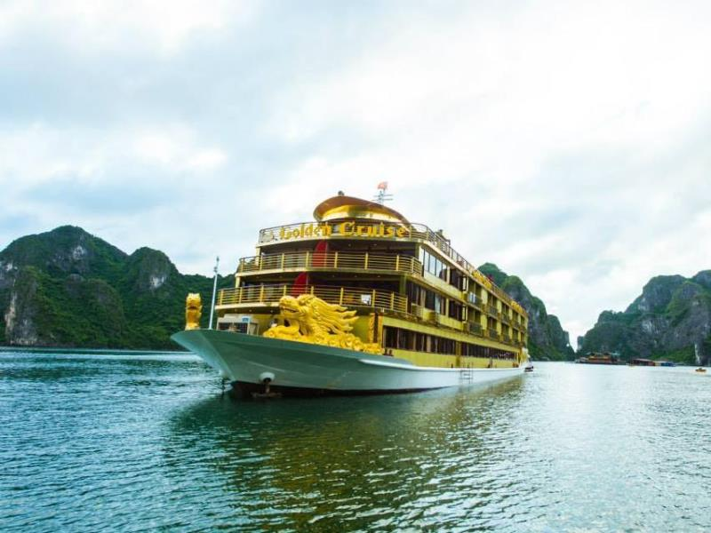 Golden Cruise Halong Bay, Halong Bay Tours, Cozy Vietnam Travel