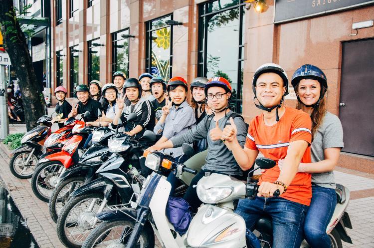 Ho Chi Minh Vespa Tour
