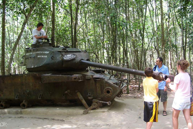 Cu Chi Tunnels, Vietnam Travel, Cozy Vietnam Travel