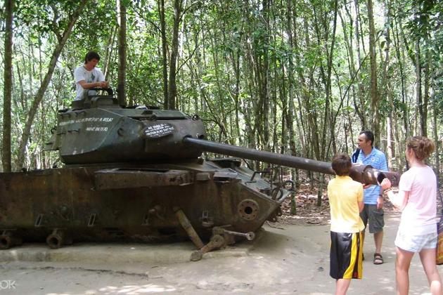 Cu Chi Tunnels, Vietnam Travel, Cozy Vietnam Travel