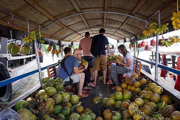 Vinh Long local market, Mekong Delta Tours, Cozy Vietnam Travel