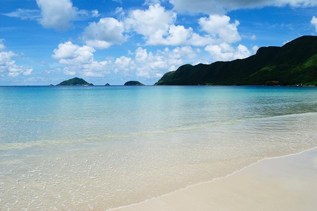 An Hai Beach in Con Dao Ba Ria Vung Tau , Cozy Vietnam Trave;