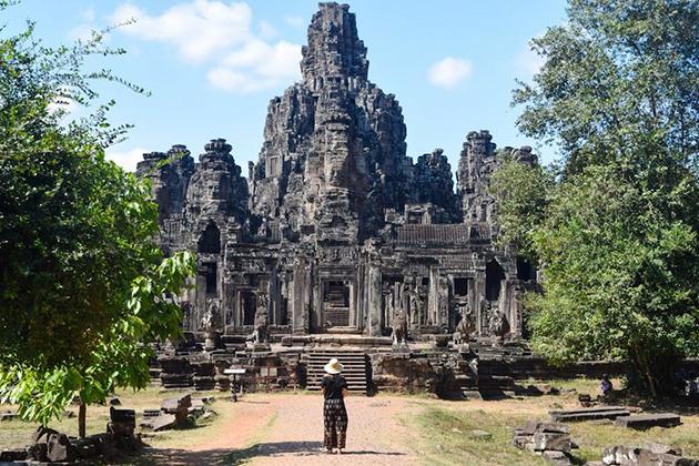 Angkor Thom Temple Cambodia