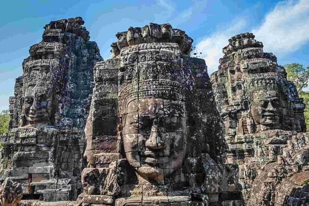 Angkor Thom, Indochina tour