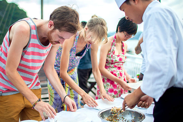 cooking class in Halong Bay, Halong Bay Tours, Cozy Vietnam Travel