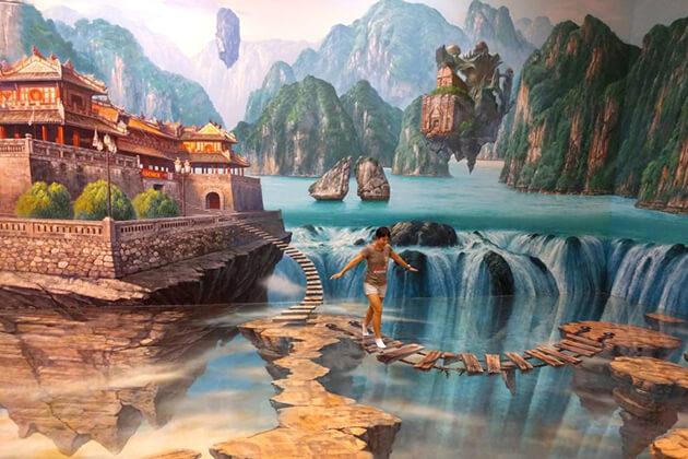 Artinus 3D Art Museum, Saigon City Tours, Cozy Vietnam Travel