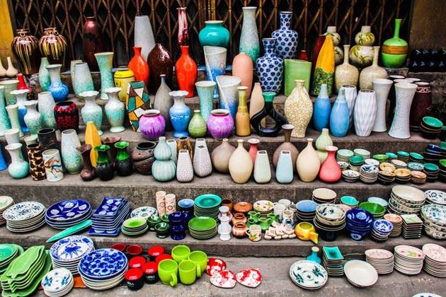 Bat Trang Ceramic Product, Hanoi, Vietnam, Cozy Tour